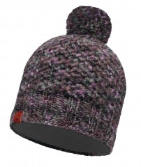 Шапка Buff KNITTED & POLAR HAT MARGO PLUM (US:one size)
